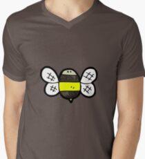 cartoon bumble bee Mens V-Neck T-Shirt