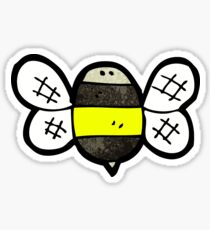 cartoon bumble bee Sticker
