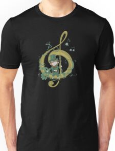 Vintage Leprechaun Making Music - St Patricks Day 2017 Unisex T-Shirt