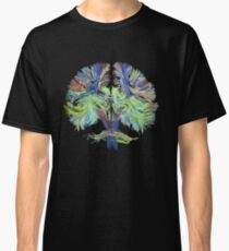 Tractography on black Classic T-Shirt