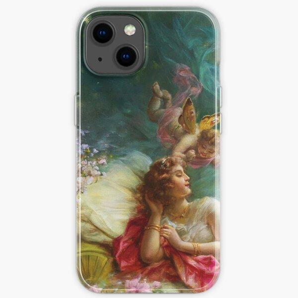 a dream, hans zatzka  iPhone Soft Case