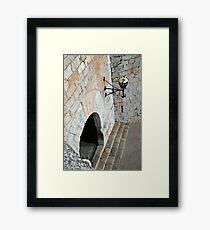 """Templar Castle"" Framed Print"