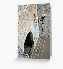 """Templar Castle"" Greeting Card"