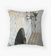 """Templar Castle"" Throw Pillow"
