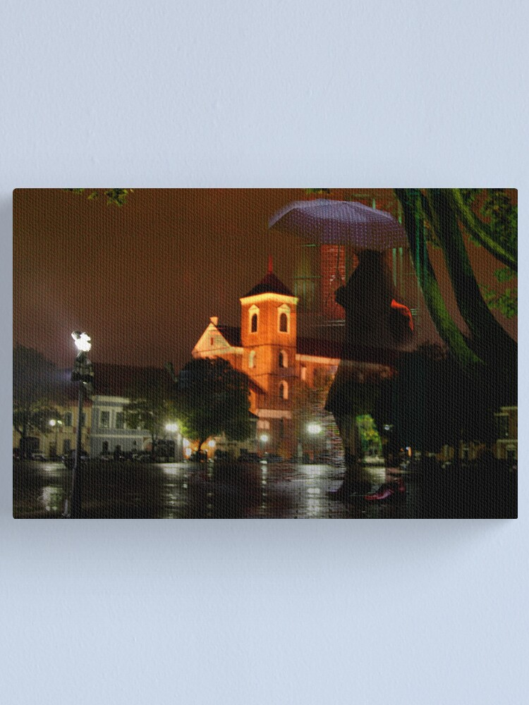 Alternate view of Rainwomen Canvas Print