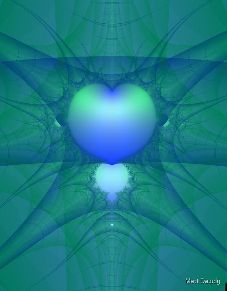 Fractal Heart by Matt Dawdy