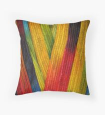 Yarn 1 Throw Pillow