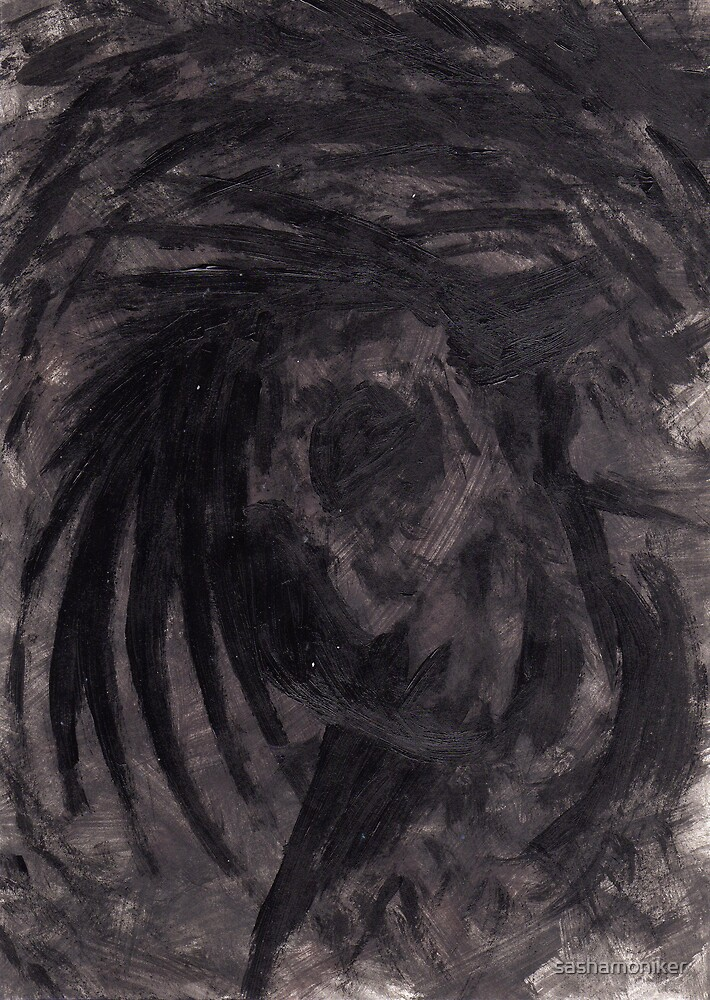 Dance in the dark by sashamoniker