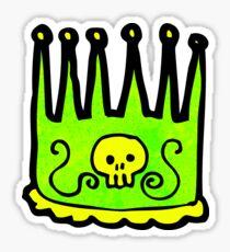 cartoon kings crown Sticker