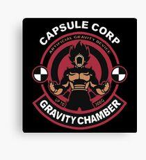 Capsule Corp - Vegeta Canvas Print