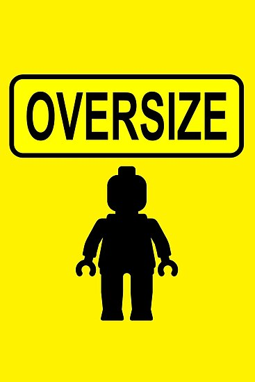 Oversize Minifig by Customize My Minifig