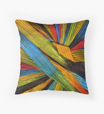 Yarn 4 Throw Pillow