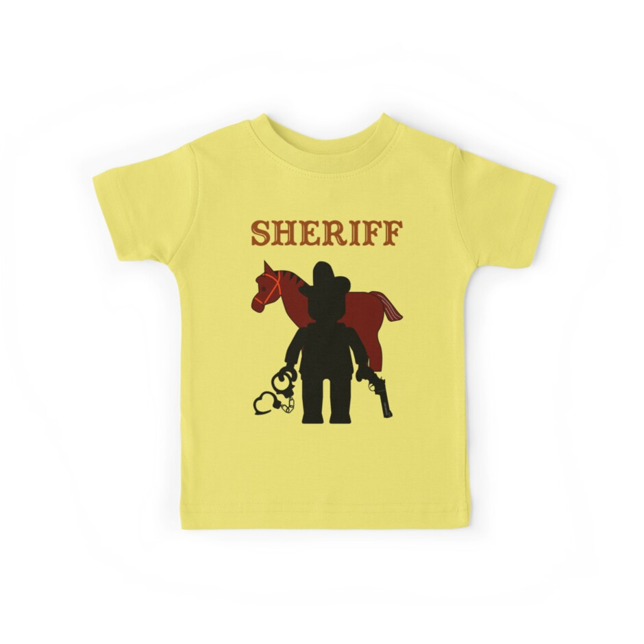 """""""SHERIFF"""", Customize My Minifig by Customize My Minifig"""