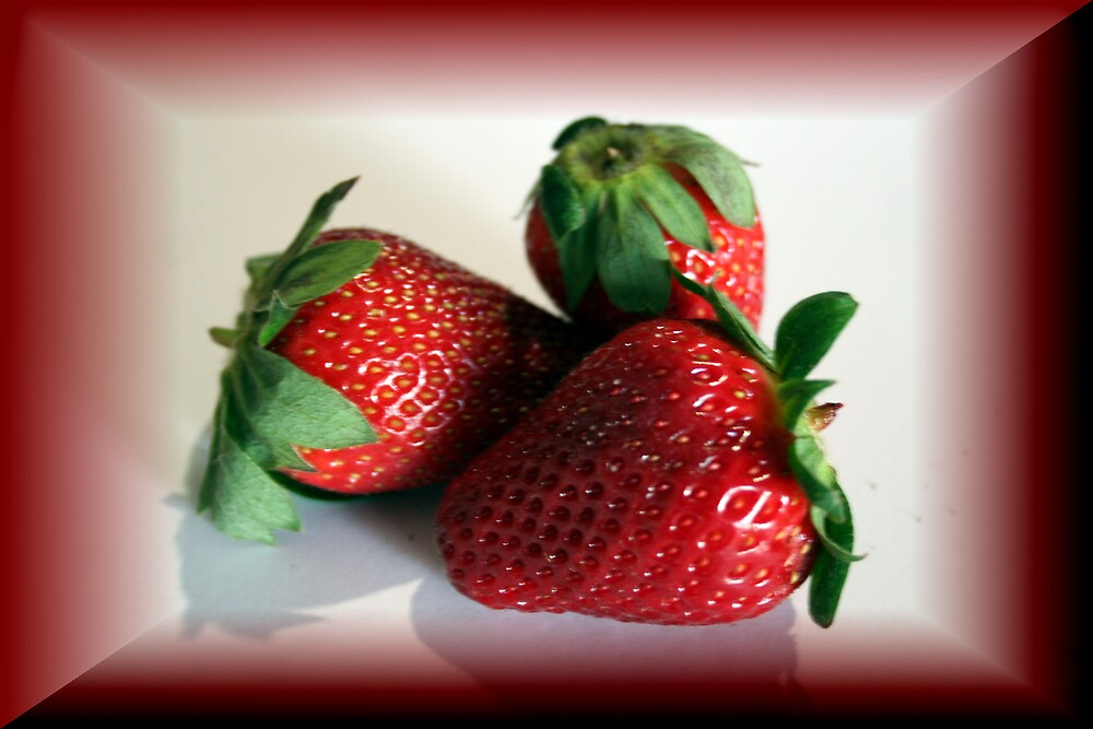 strawberries by sherryn pitt