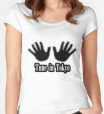 Tune in Tokyo Women's Fitted Scoop T-Shirt