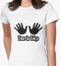 Tune in Tokyo Women's Fitted T-Shirt