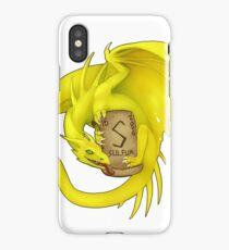Sulfur - Periodic Dragons iPhone Case