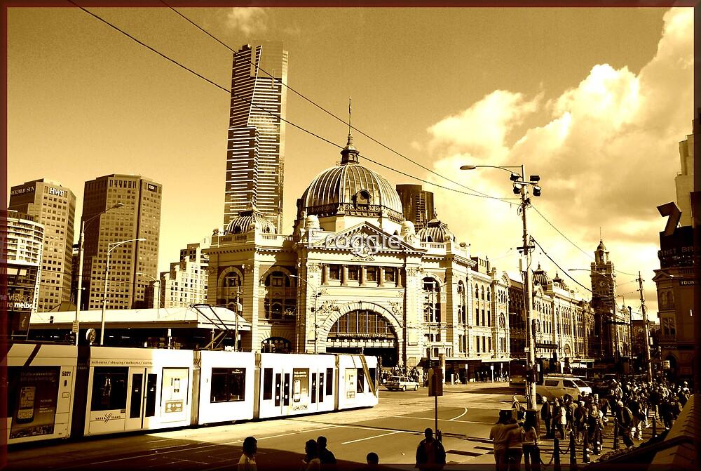 Flinders Street by Froggie