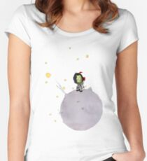 The little Kerbaunote Women's Fitted Scoop T-Shirt