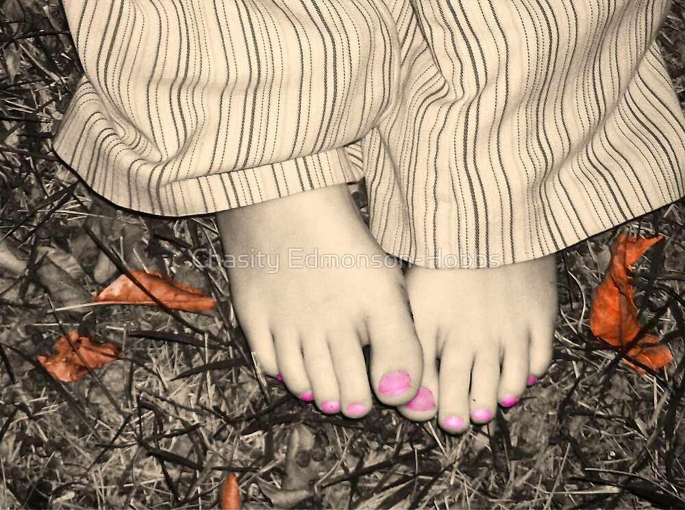 My baby girls feet. by Chasity Edmonson-Hobbs