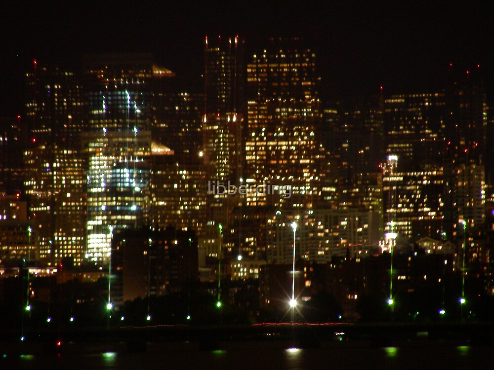 Invisible City by libberding
