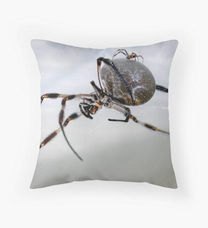 Love At First Bite Throw Pillow