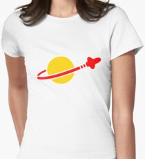 LEGO Space Man Logo Womens Fitted T-Shirt