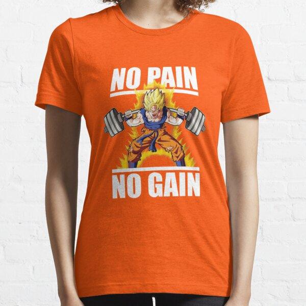 Goku No Pain No Gain Essential T-Shirt