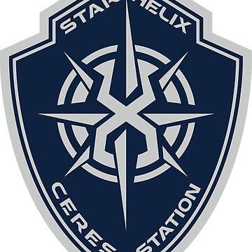 Star Helix Ceres Badge by Ekliptik