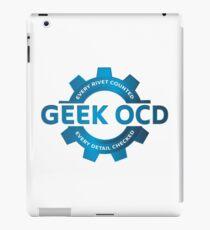 Geek OCD iPad Case/Skin