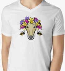 The Hound of Spring Men's V-Neck T-Shirt
