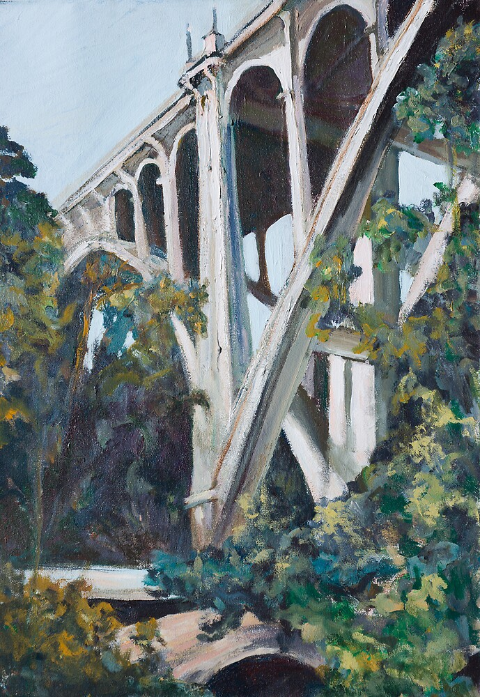 Old Bridge by Linda J Armstrong