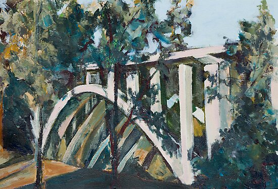 Arroyo Bridge by Linda J Armstrong