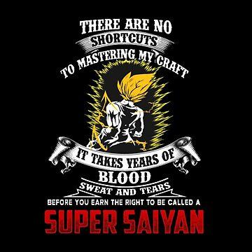 Super Saiyan Vegeta Motivation by boyinkus