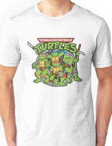 1987 Teenage Ninja Turtles Adults T-shirt Unisex