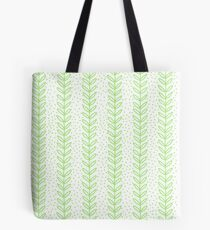 Green Leaf seamless pattern. Simple Nature  fresh  background. Tote Bag