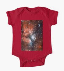 Red Galaxy 2.0 One Piece - Short Sleeve