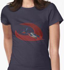 PKMN Mega Salamence  Women's Fitted T-Shirt