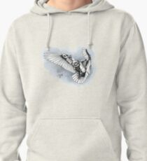Lazer owl Pullover Hoodie