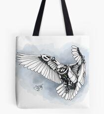 Lazer owl Tote Bag