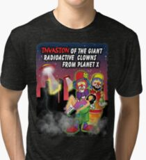 Giant Radioactive Clowns Tri-blend T-Shirt