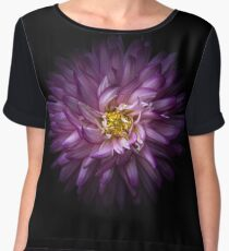 Backyard Flowers 20 Color Version Women's Chiffon Top