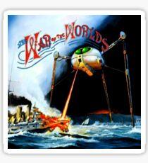 War of the Worlds Sticker