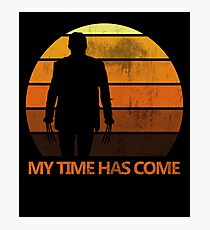 My Time Has Come Photographic Print