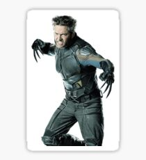 Hugh Jackman the true Wolverine, Logan Sticker