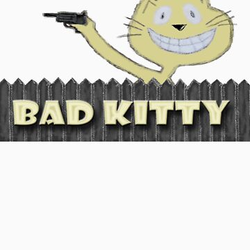 Bad Kitty - T-shirt by zee1