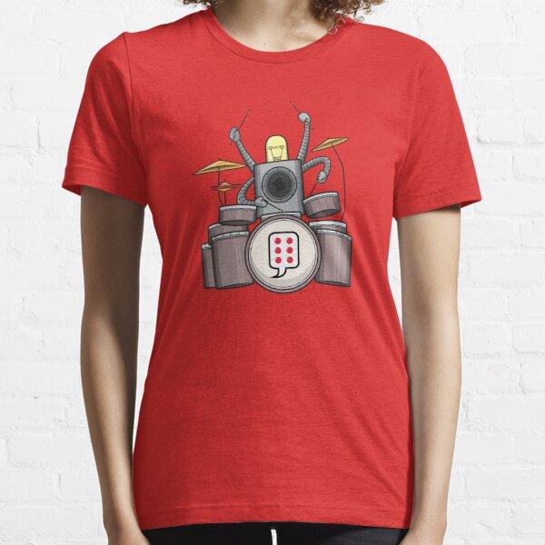 FRD - The funky Robo Drummer - BUBBLEROCK!!!! Essential T-Shirt