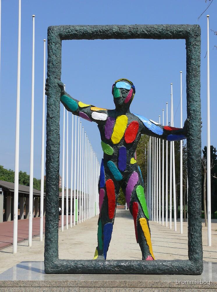 Olympic Man by brummieboy