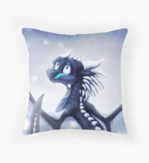 Wings of Fire - Whiteout Throw Pillow
