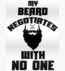 negotiate with no one  Poster